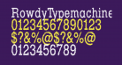 RowdyTypemachine-CondensedRegul