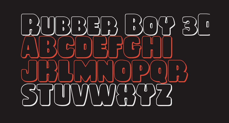 Rubber Boy 3D Regular