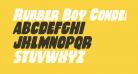 Rubber Boy Condensed Italic