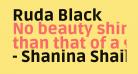 Ruda Black