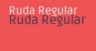 Ruda Regular