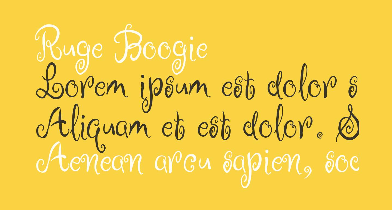 Ruge Boogie