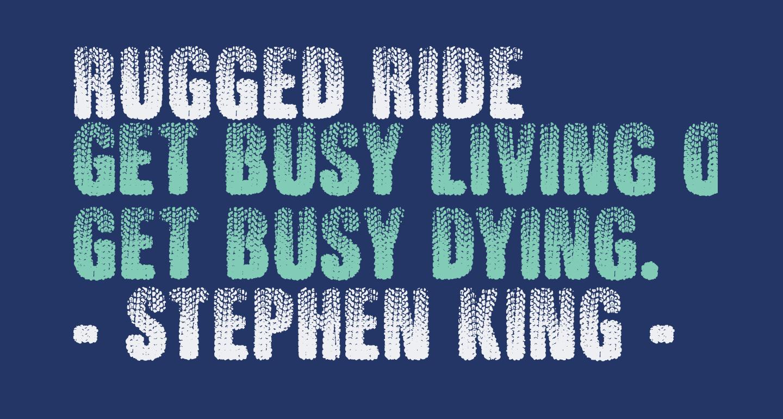 Rugged Ride