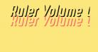 Ruler Volume Outer