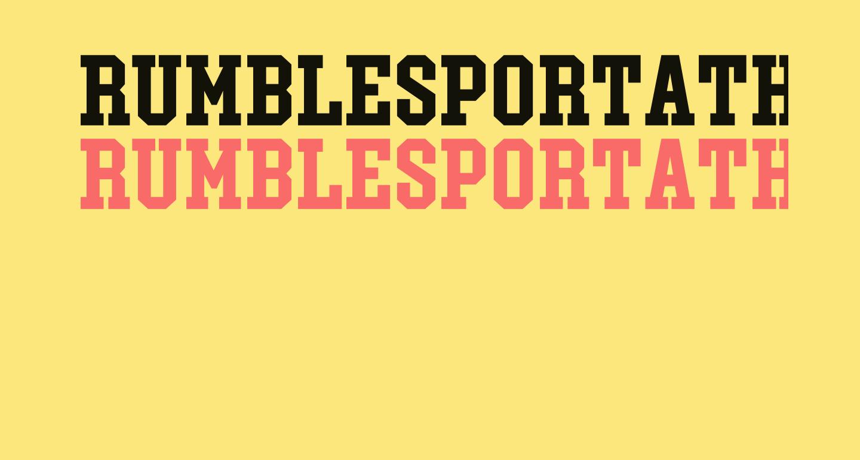 RumblesportAthleticCaps-Bold