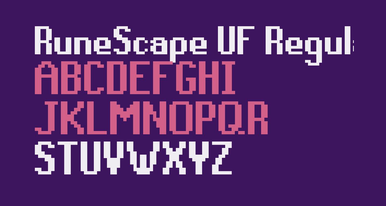 RuneScape UF Regular