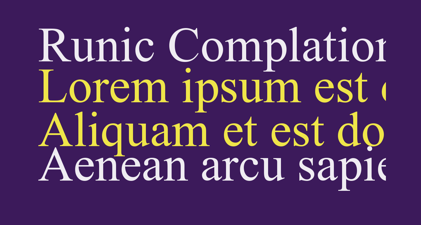 Runic Complation Normal
