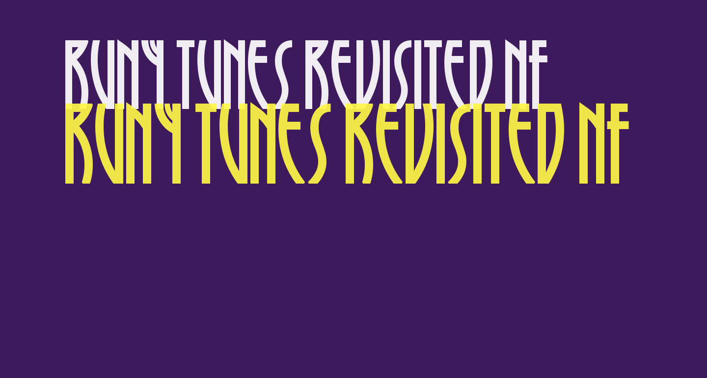 Runy Tunes Revisited NF