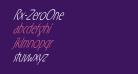 Rx-ZeroOne