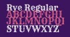 Rye Regular