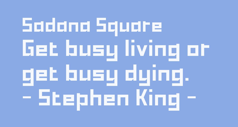 Sadana Square