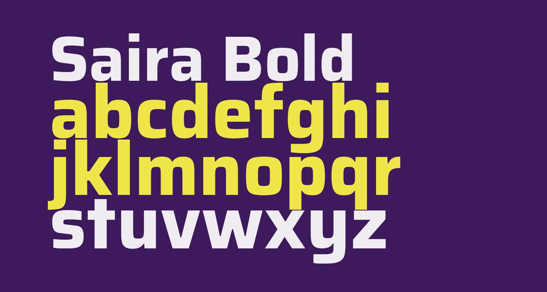 Saira Bold