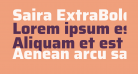 Saira ExtraBold