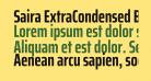 Saira ExtraCondensed Bold