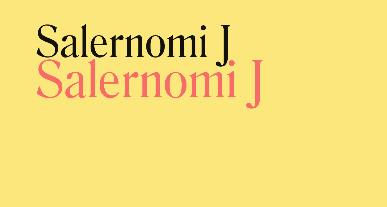 Salernomi J
