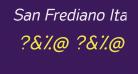 San Frediano Italic