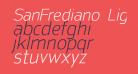 SanFrediano-LightItalic