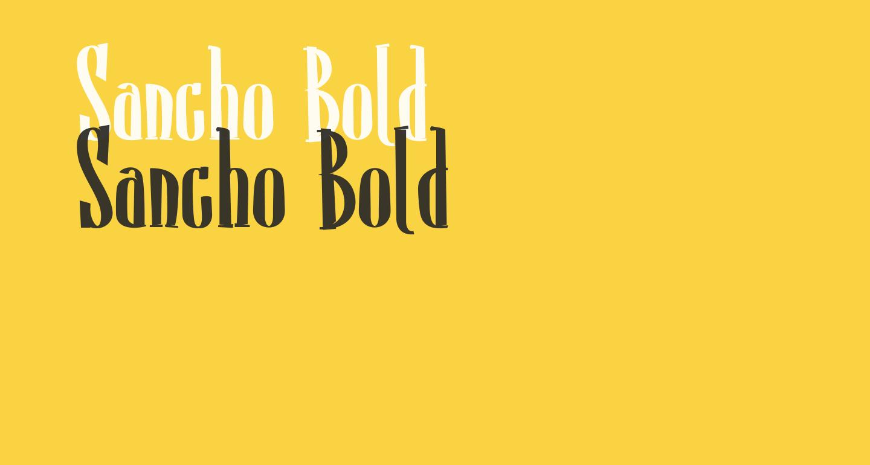 Sancho Bold