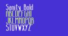 Sanity Bold