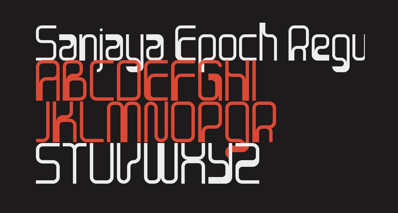 Sanjaya Epoch Regular