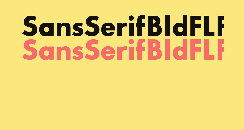 SansSerifBldFLF
