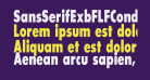 SansSerifExbFLFCond