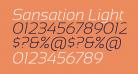 Sansation Light Italic