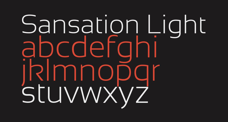 Sansation Light
