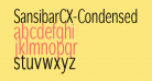 SansibarCX-Condensed