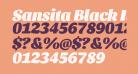 Sansita Black Italic