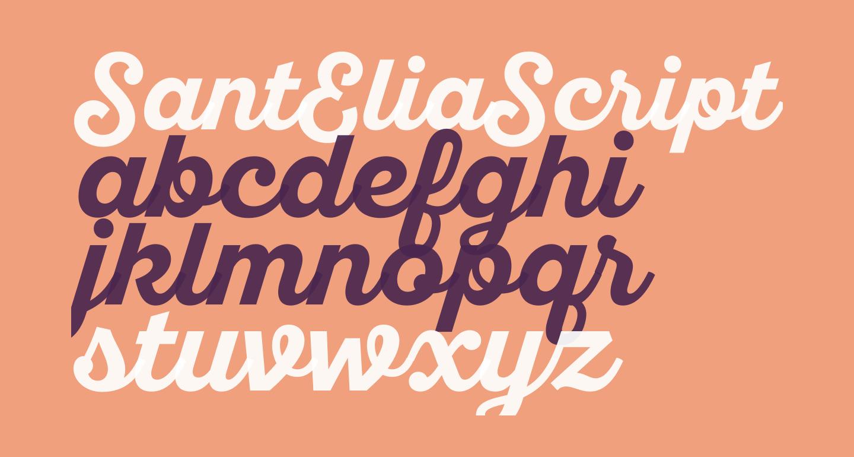 SantEliaScript-BoldDMO