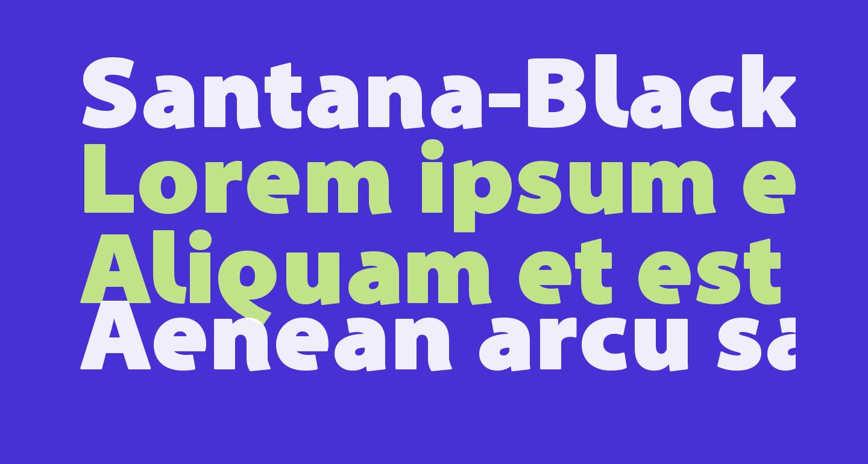 Santana-Black