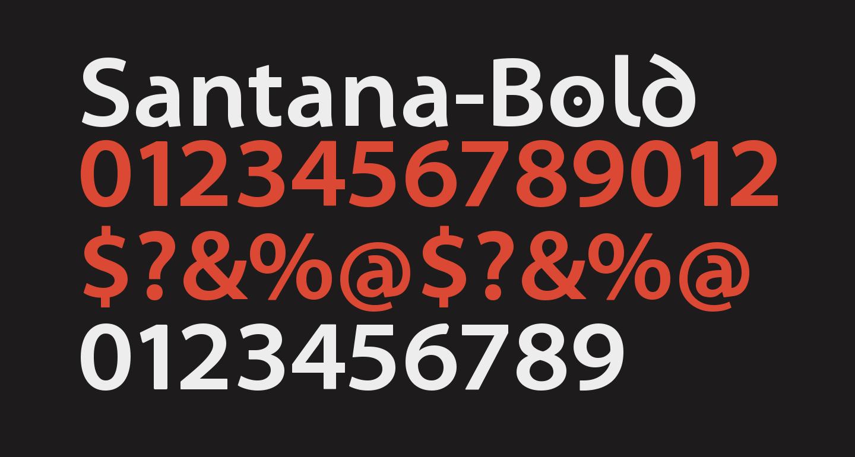Santana-Bold