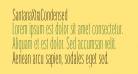 SantanaXtraCondensed