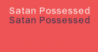 Satan Possessed