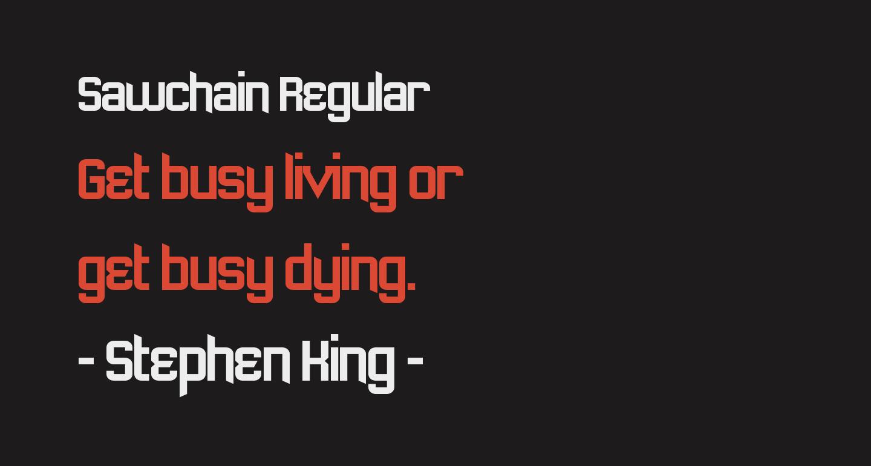 Sawchain Regular