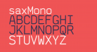 saxMono