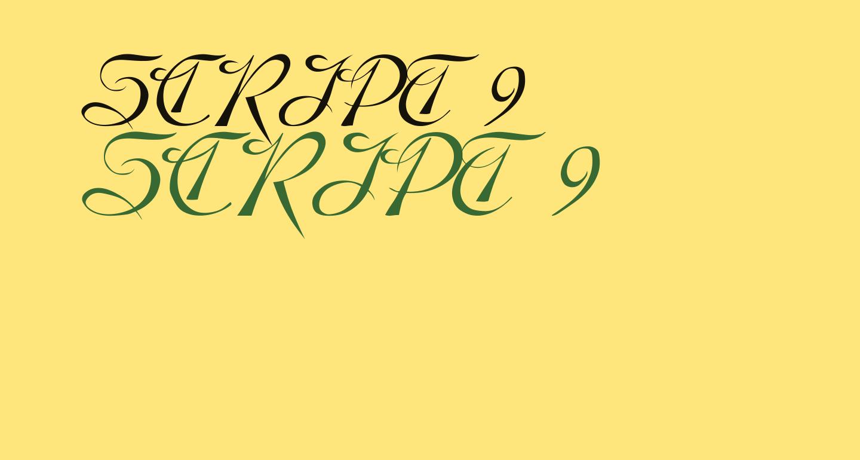 SCRIPT 9