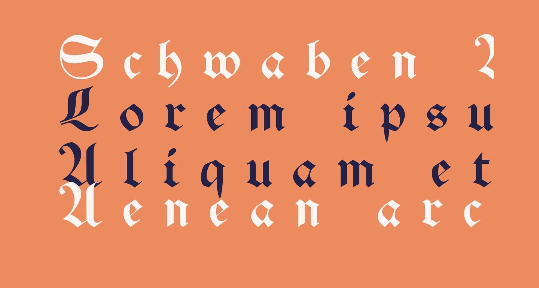 Schwaben Alt UNZ1A Italic