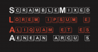 ScrambleMixed