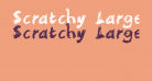Scratchy  Large