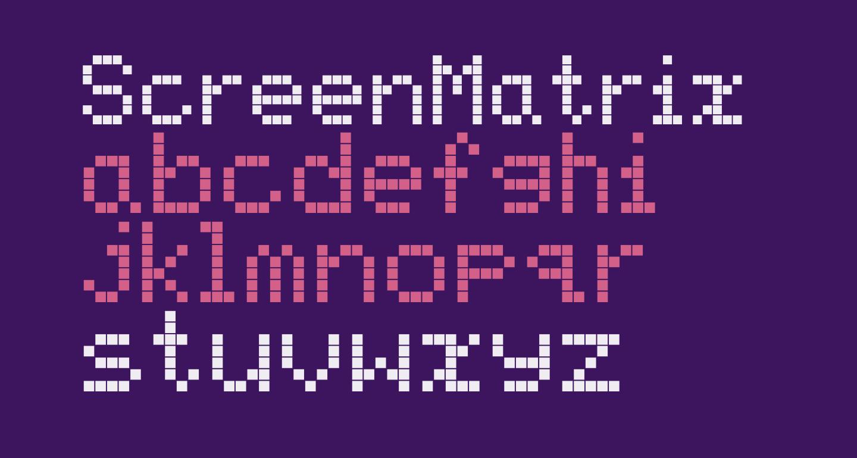 ScreenMatrix