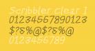 Scribbler Clear Italic