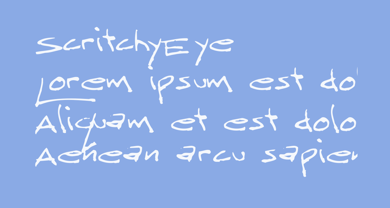 ScritchyEye
