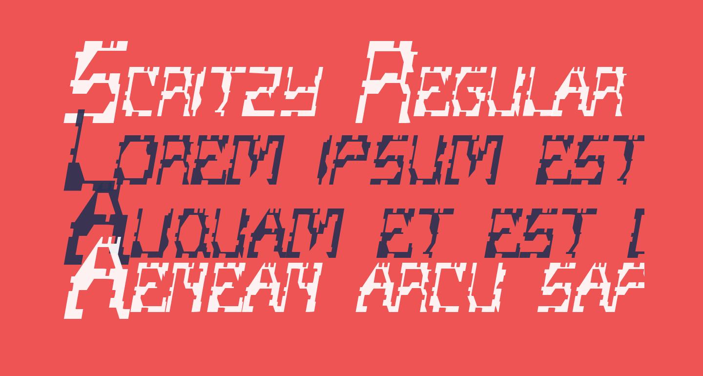 Scritzy Regular