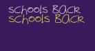 schools Back
