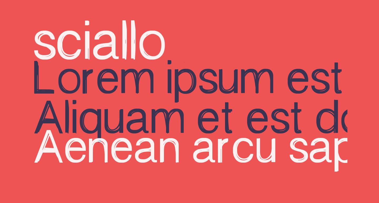 sciallo