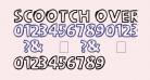 scootch over [sans]