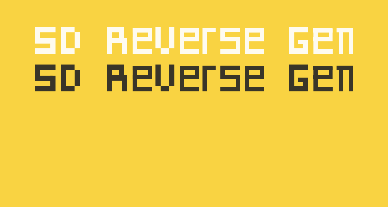SD Reverse Generation