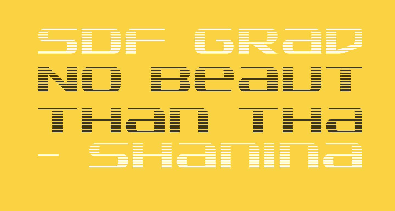SDF Gradient